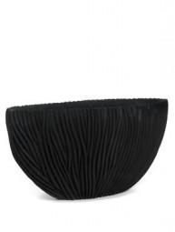 Ovale River Vase in schwarz in versch. Größen