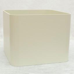 Tina Basic Hydrogefäß Quadrat in versch. Größen und Strukturlackfarben