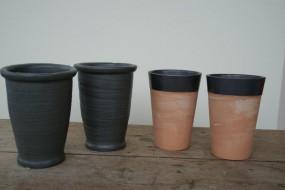 Keramikvase in verschiedenen Varianten