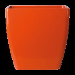 Supremo Kunststoffgefäß Eckig in verschiedenen Farben und Größen.