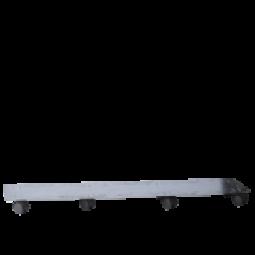 Rollenuntersätzer für Solo Rechteckgefäß 80x30x43