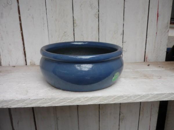 Hydrogefäße aus Steinzeug im hellen blau Ø24/H11 cm
