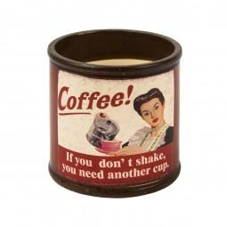 Trendiges Coffee Keramikgefäß in verschiedenen Ausführungen