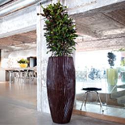Fjord Vase aus Kunststoff in verschiedenen Größen und Farben