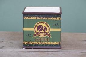Trendiges Keramikgefäß Tea 12x12 cm / H 12 cm