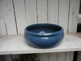 Hydrogefäße aus Steinzeug in dunkel blau Ø29/H11 cm
