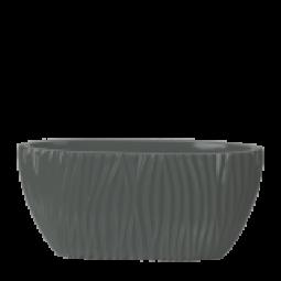 Fjord Kunststoffgefäß oval 45x19x21 cm in verschiedenen Farben